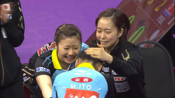 卓球女子日本代表 涙の銀メダル 東京への序章【卓球ジャパン!クロニクル】