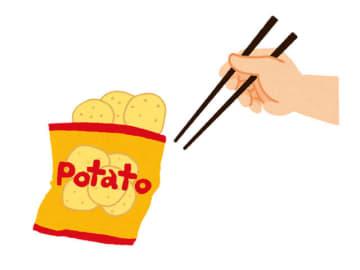 【チョイス】「ゲーム中にポテチを食べる時… 箸を使う? 使わない?」結果発表