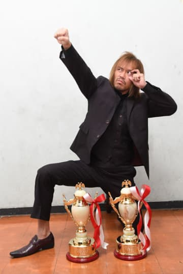 【プロレス大賞表彰】2冠の内藤「東京ドームのメインイベントにまた必ず帰ってくる」発言の意味