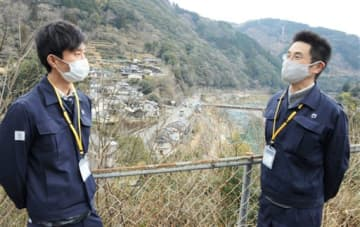 復興支援の恩返しを 兵庫県、球磨村に職員2人派遣