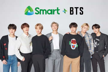 'Smart Ako!': BTS signs with Philippine telco for biggest campaign to date