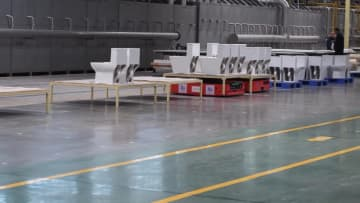 5Gを活用したスマート衛生陶器工場 福建省泉州市