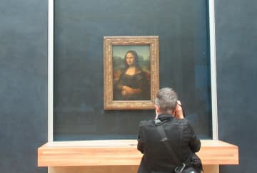 Mona Lisa seen by millions fewer in 2020 as pandemic empties Louvre