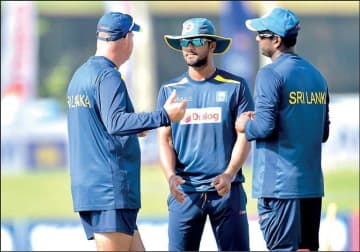 Take a batting lesson from Mathews and go big, says head coach | Daily FT