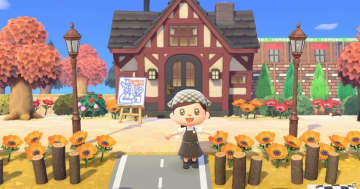 「あつまれ どうぶつの森」コメダ島の夢番地が公開!コメダ珈琲店を再現したエリアなどが登場
