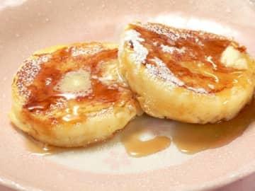 ホットケーキをアレンジ! ふわふわ「フレンチパンケーキ」の作り方