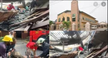 Methodist Church Collapses on People