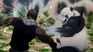 『呪術廻戦』第16話先行カット公開! 釘崎VS西宮&パンダVSメカ丸の戦いが始まる