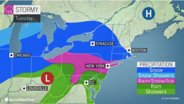 N.J. weather: Snow, sleet, freezing rain expected today. Latest on storm timing, ice potential.