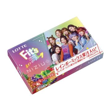 NiziU、初のガム商品開発に協力! 『Fit's NiziUコラボガム』『Fit's NiziUキューブボトルガム』発売決定