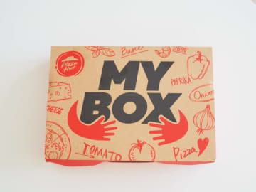 こんなサイズ欲しかった! 期間限定のおひとりさま用ピザボックス
