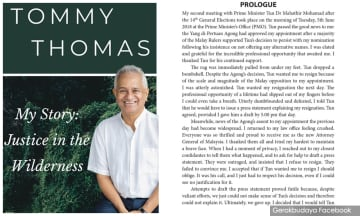 YOURSAY | Tommy Thomas' shocking revelation