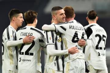 サッカー=イタリア杯、ユベントスが大勝 ラツィオは黒星