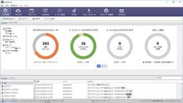 アクティファイ、バックアップの集中管理コンソール「ActiveVisor」の新版 画像
