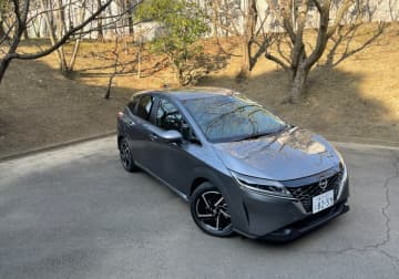 日産自動車・新型「ノート」