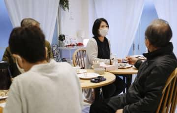 東京都内で開かれた福島県の県外避難者らの交流会=2020年12月