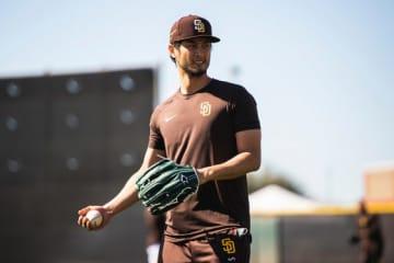 パドレスのダルビッシュ有【写真:Matt Thomas / San Diego Padres】