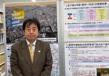 江東区土木部地下鉄8号線事業推進担当課長の小林秀樹氏