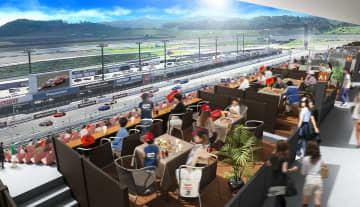 新設されるグランデッキでのレース観戦のイメージ(提供)