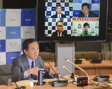 神奈川知事、緊急事態宣言の前倒し解除に否定的 感染数減少「ペースが鈍化」