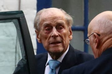 UK's Prince Philip 'a lot better' but to stay i...