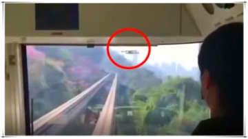 ドローンが低空飛行で前方から接近、モノレールが緊急停止―中国・重慶