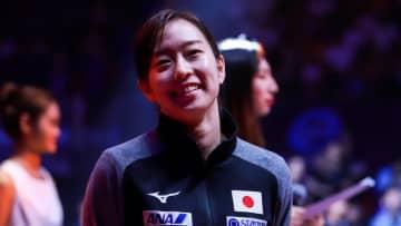 石川佳純、28歳のバースデーに笑顔で感謝 平野早矢香さんからは「可愛い 惚れる笑笑」