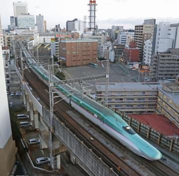 東北新幹線が全線再開 那須塩原―仙台が復旧 画像