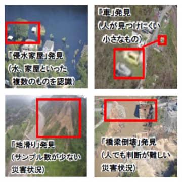 日立、ドローンなどの空撮映像から災害状況を高精度に解析できるAI技術を開発 画像
