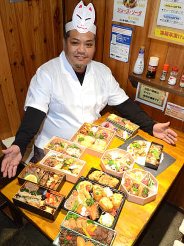 具材にフナ味噌や焼き肉「創作いなり」多ジャンル12店、テークアウトに力 画像