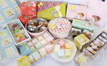 Shinzi Katoh のかわいい絵とブールミッシュの本格フランス菓子、2021年ホワイトデー限定... 画像