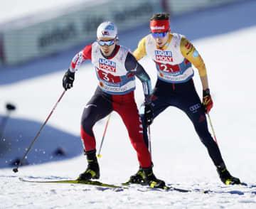スキー複合男子団体、日本4位