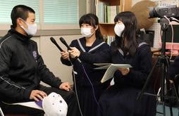 放送部も狙え全国 センバツ初出場の東播磨高、密着ドキュメント制作中