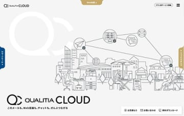 クオリティア、「QUALITIA CLOUD」がクラウドアプリとSSO連携を開始 画像