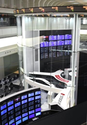 東京証券取引所=東京・日本橋兜町