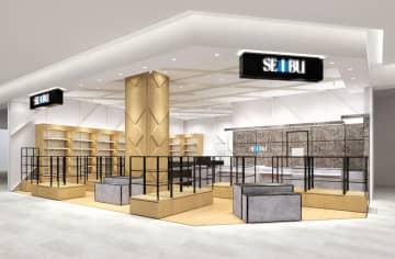 28日に開業する「西武武蔵小杉ショップ」の売り場イメージ(そごう・西武提供)