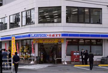 8日にオープンしたローソン・ポプラ宇品海岸店