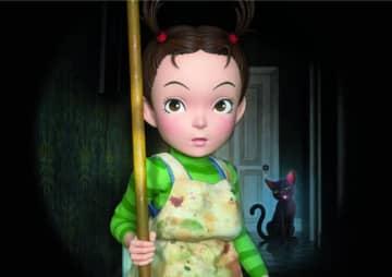 ジブリの新ヒロインアーヤ! 『アーヤと魔女』 - (C)2020 NHK, NEP, Studio Ghibli