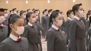 未来のタカラジェンヌが入学式 PCR検査受け 校歌も録音で感染対策 画像