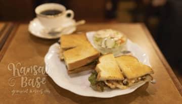 大阪・南森町でレトロなアンティーク空間で様々な産地にこだわる珈琲と豊富な軽食メニューが味わえる純喫茶... 画像