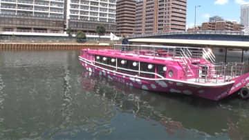 「船が泣いている」ゴールデンウィークの切り札に ピンク船体 & 世界一スイーツ 画像