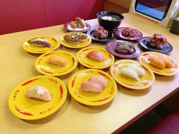 スシローで同時開催中の「100円ネタ」と「肉祭」を全部食べてみた!  画像