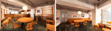 仙台にカフェ・フード・バーを備えたローカルラウンジ「Echoes」がオープン!2021年5月下旬を予... 画像