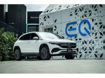メルセデスのAクラスのサイズ感のコンパクトEVであるEQA、「EQA250」の価格は640.0万円