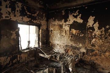 米軍による空爆を受け、42人が犠牲となったアフガニスタン・クンドゥズのMSF病院 © Andrew Quilty