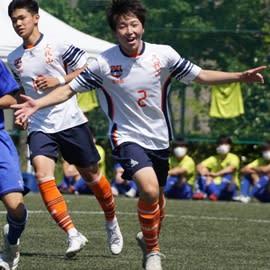 國學院久我山が2-0で勝利(写真=矢島公彦)