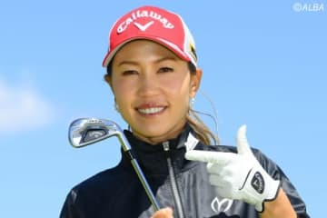 大会前に5Iの有効性を話していた上田桃子 それがすぐにコースで役立った