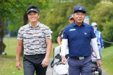 ゴルフ人生のほとんどを競い合ってきた2人(撮影:岩本芳弘)