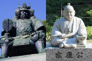 武田信玄(山梨)と徳川家康(静岡)(左:takashi、右:chieko.k/PIXTA)