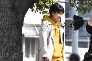 『大豆田とわ子と三人の元夫』撮影中も絶えず笑顔の松
